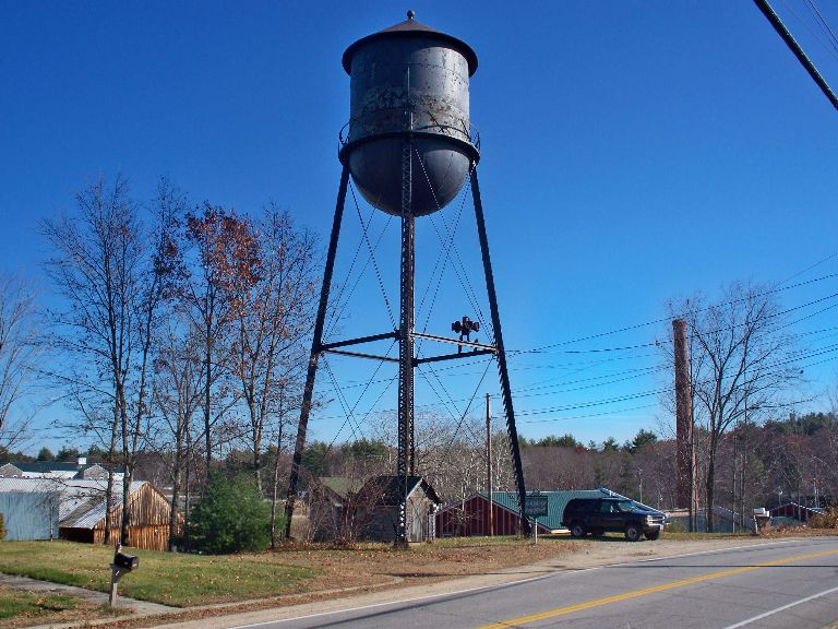 PPM: Fremont, NH Landmark- Watertower